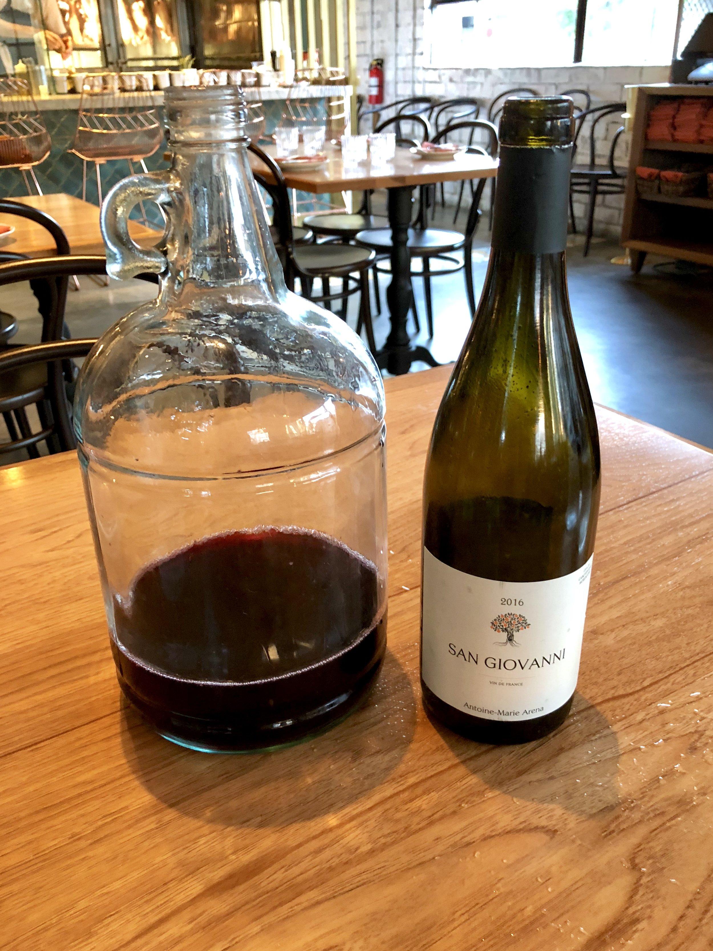 2016 antoine-marie arena vin de france san giovanni