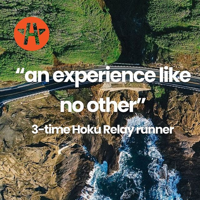 """We couldn't agree more 🙌🌟 """"the camaraderie, the beach-side runs through the sunrise""""... need we say more? Sign-up, donate, follow, connect with us and be part of this crazy journey 🤗 👣 #hokurelay #2019goals"""