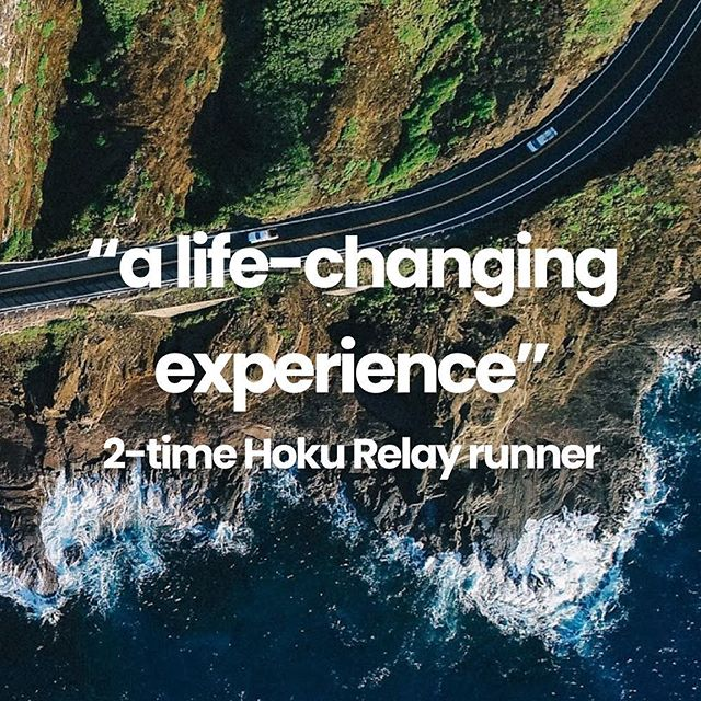 Testimonials like these make us blush 😊💕 But seriously, this champion has a point 🙌 and we wouldn't have organized the #hokurelay every year since 2016 if we didn't believe it 🤩🌟💙 #experiences #livinglifetothefullest #oahu #oahurunning