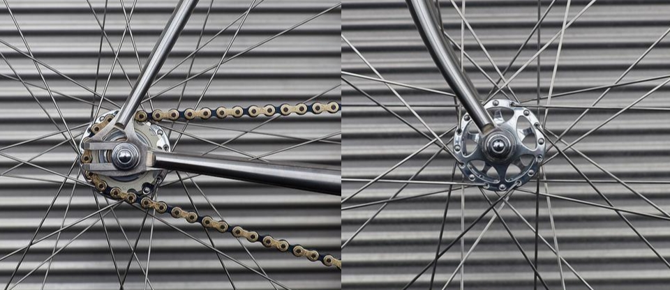 Campagnolo C-Record Sheriff Star Pista Hubs