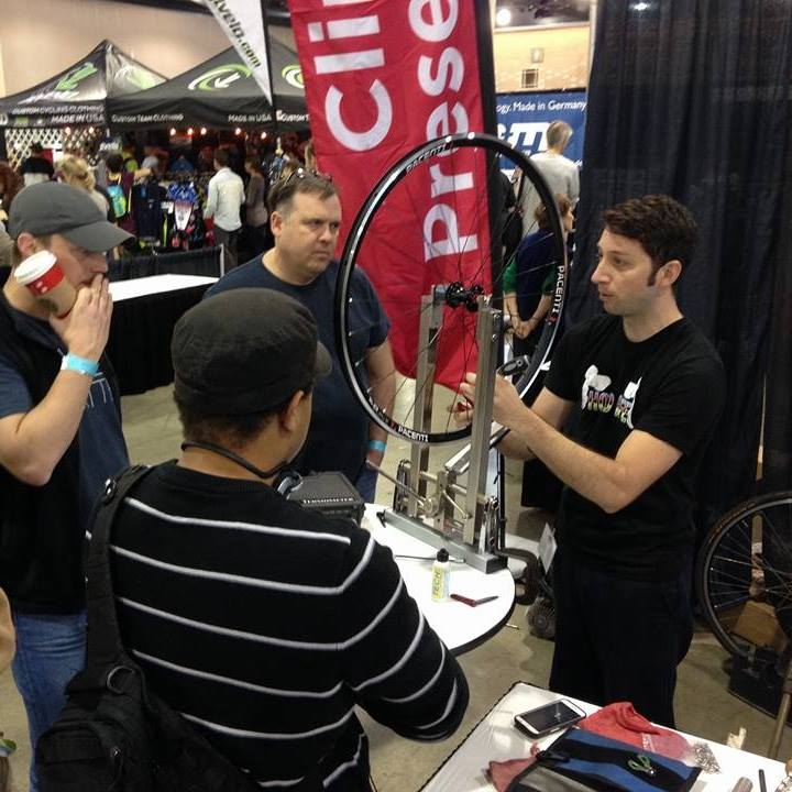 Probably rambling during my wheel build demo.