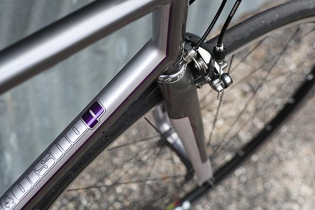John's Bishop road bike. Photo by John Watson.