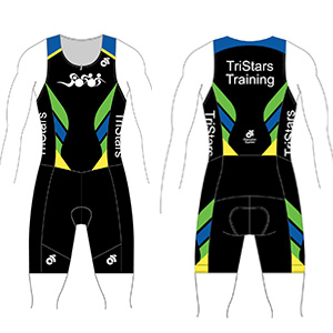 Team TriSuit - $170 + Tax - Performance fabric that is breathable,water repellent and fast drying. Two easily accessible pockets at the back.Sizing Chart- Fits As Listed