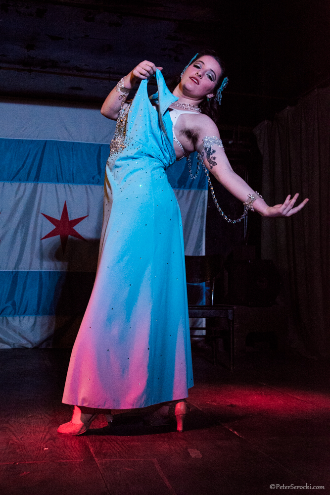 "Photo Credit to Peter Serocki Rosie Performs ""Colour My World"" at Simona Presents"