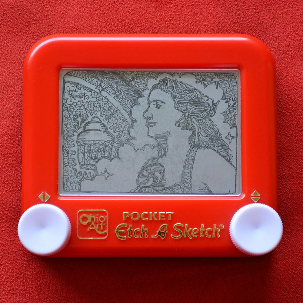Artist: Jane Labowitch (Princess Etch-A-Sketch)