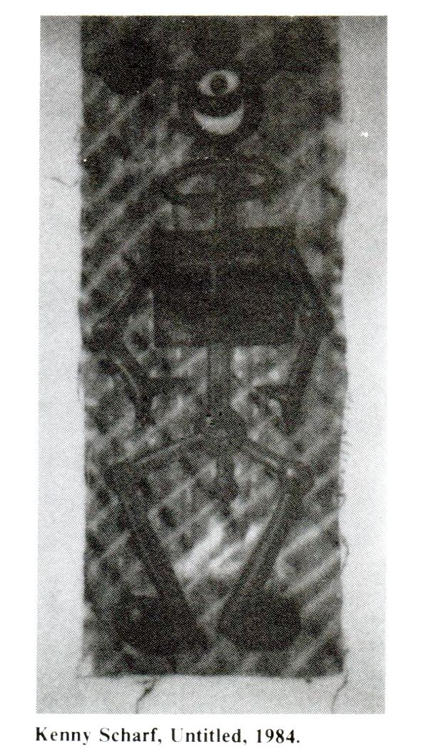 kenny Scharf untitled, 1984