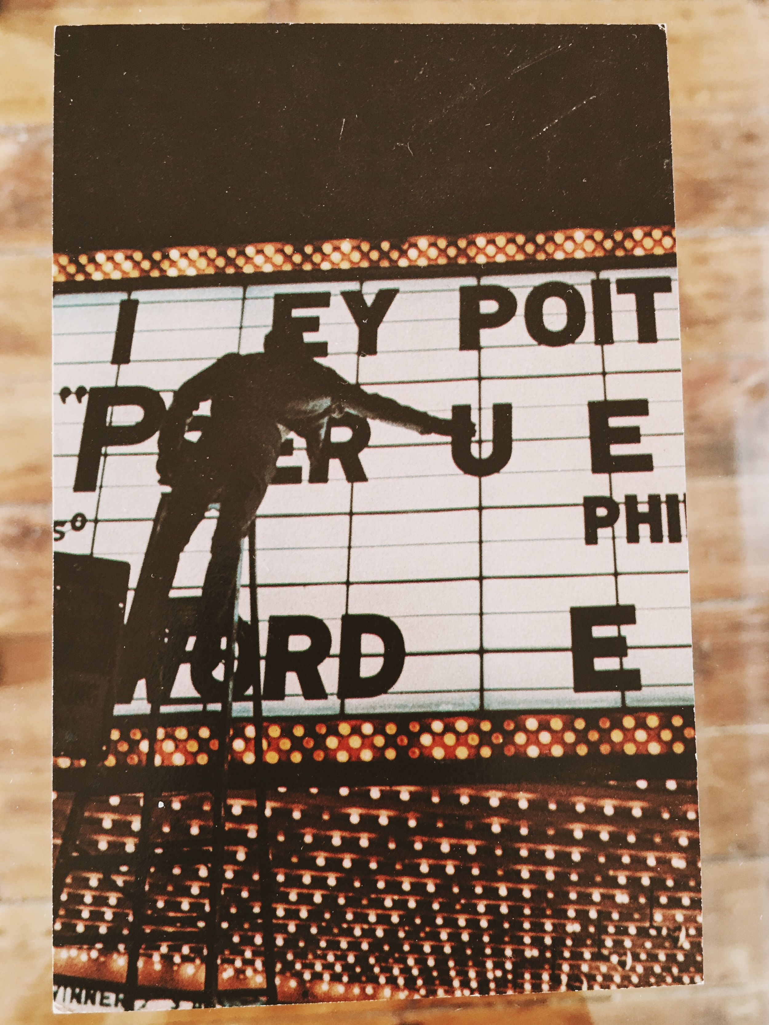 """""""PHOTONOTATIONS"""" a group show invite photograph credit: George Segal   with photographs by Arman, Mel Bochner, Sol LeWitt, Robert Mangold, Robert Smithson among others"""