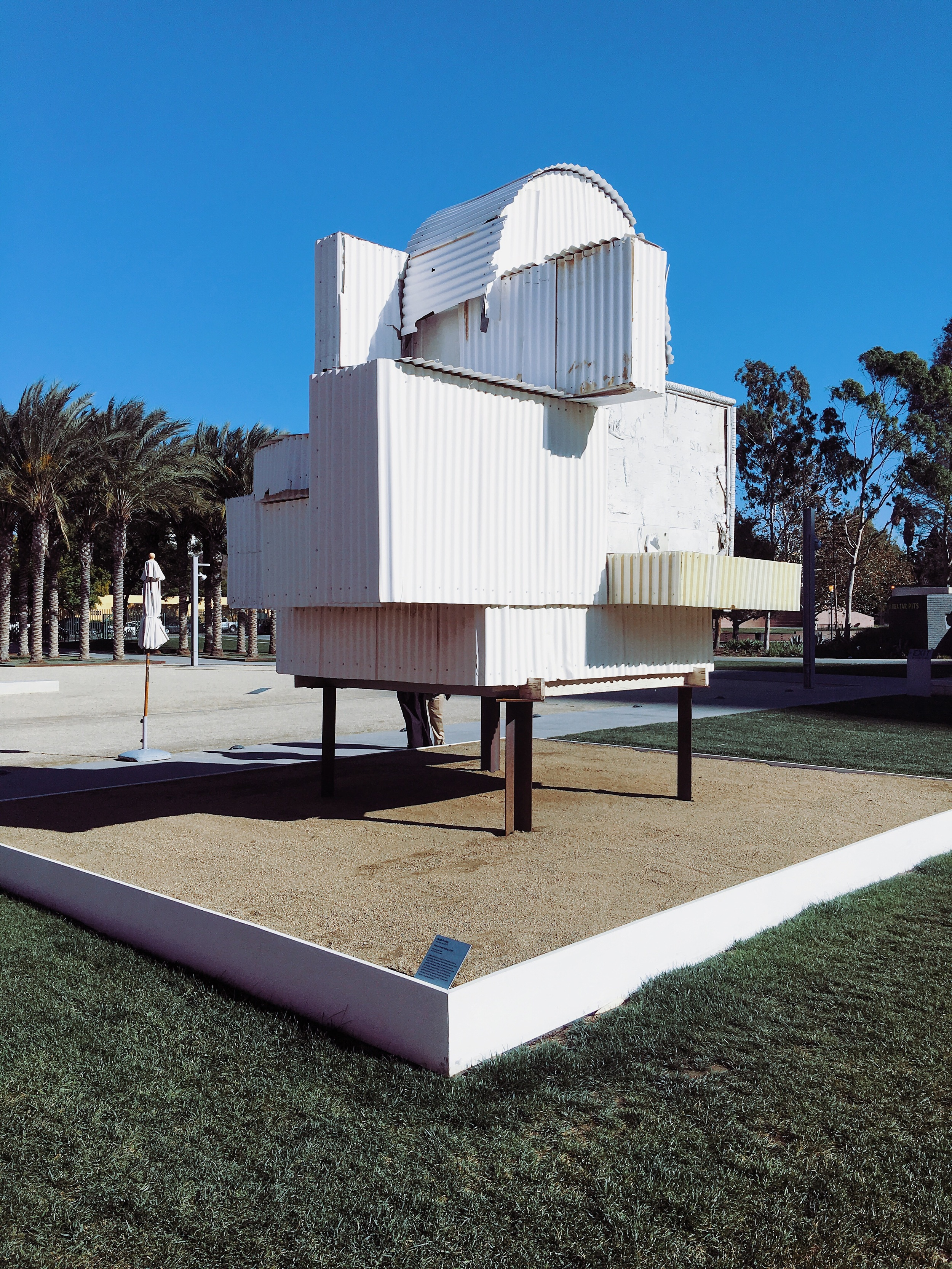 Noah Purifoy's ode to Ghery at LACMA