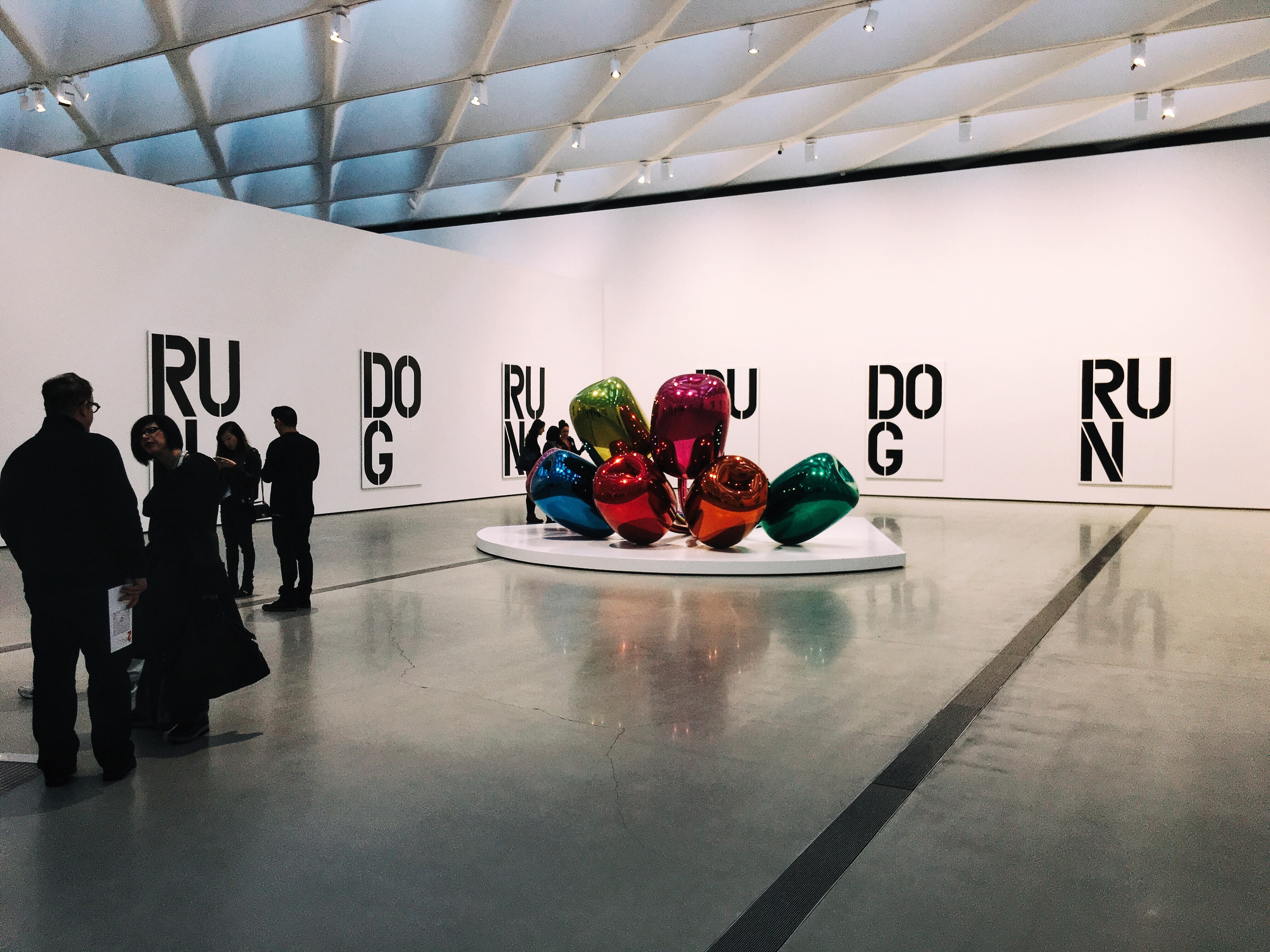 Christopher Wool and Jeff Koons