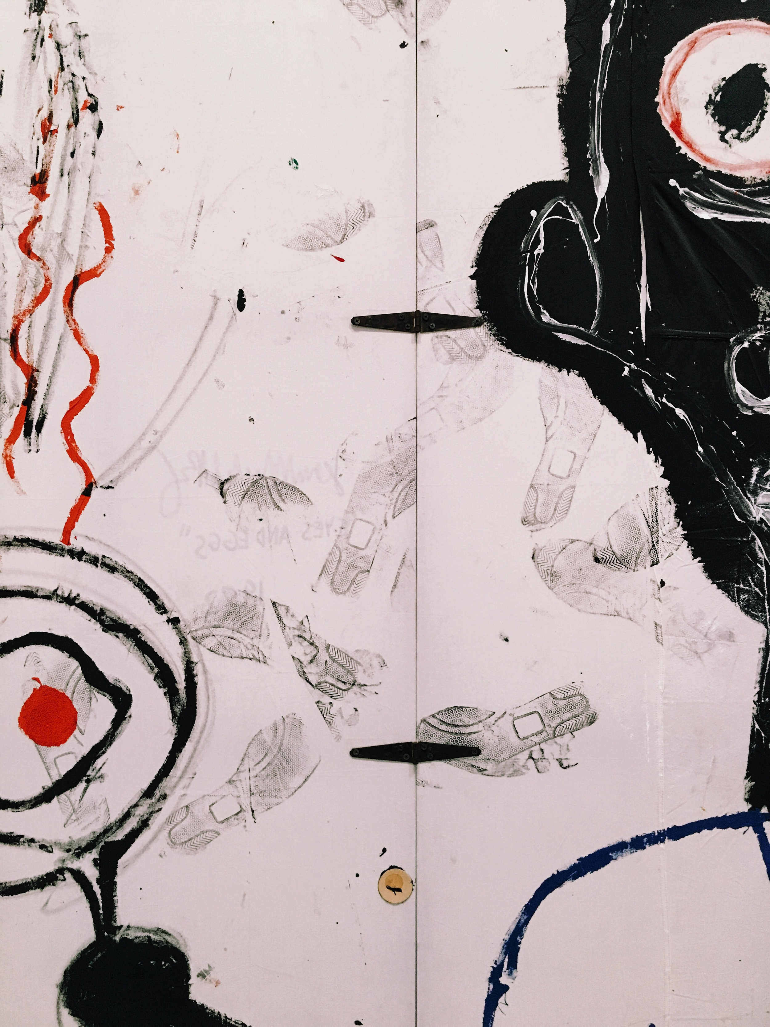 cool detail from a Basquiat i had only seen in books