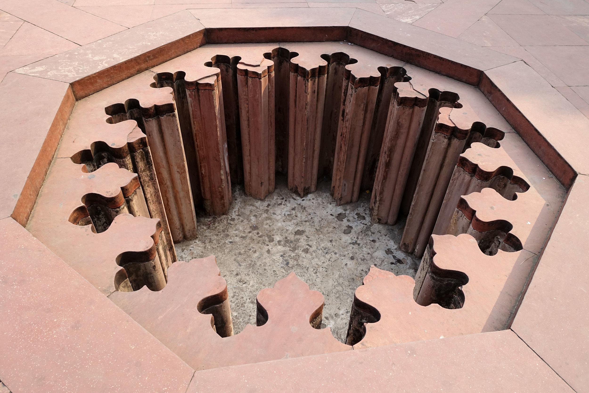 an islamic water fountain