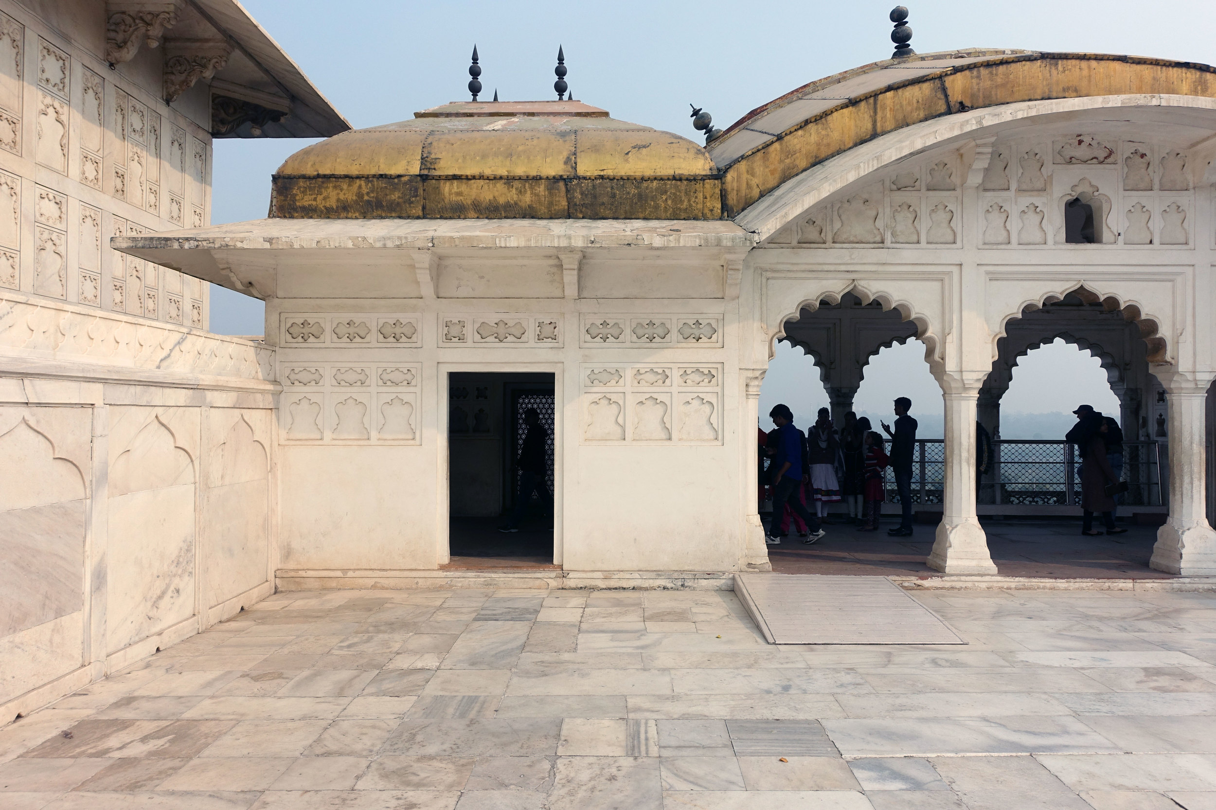 The other side of the  Jahangir Palace was the Harem where only women and Eunuch were allowed