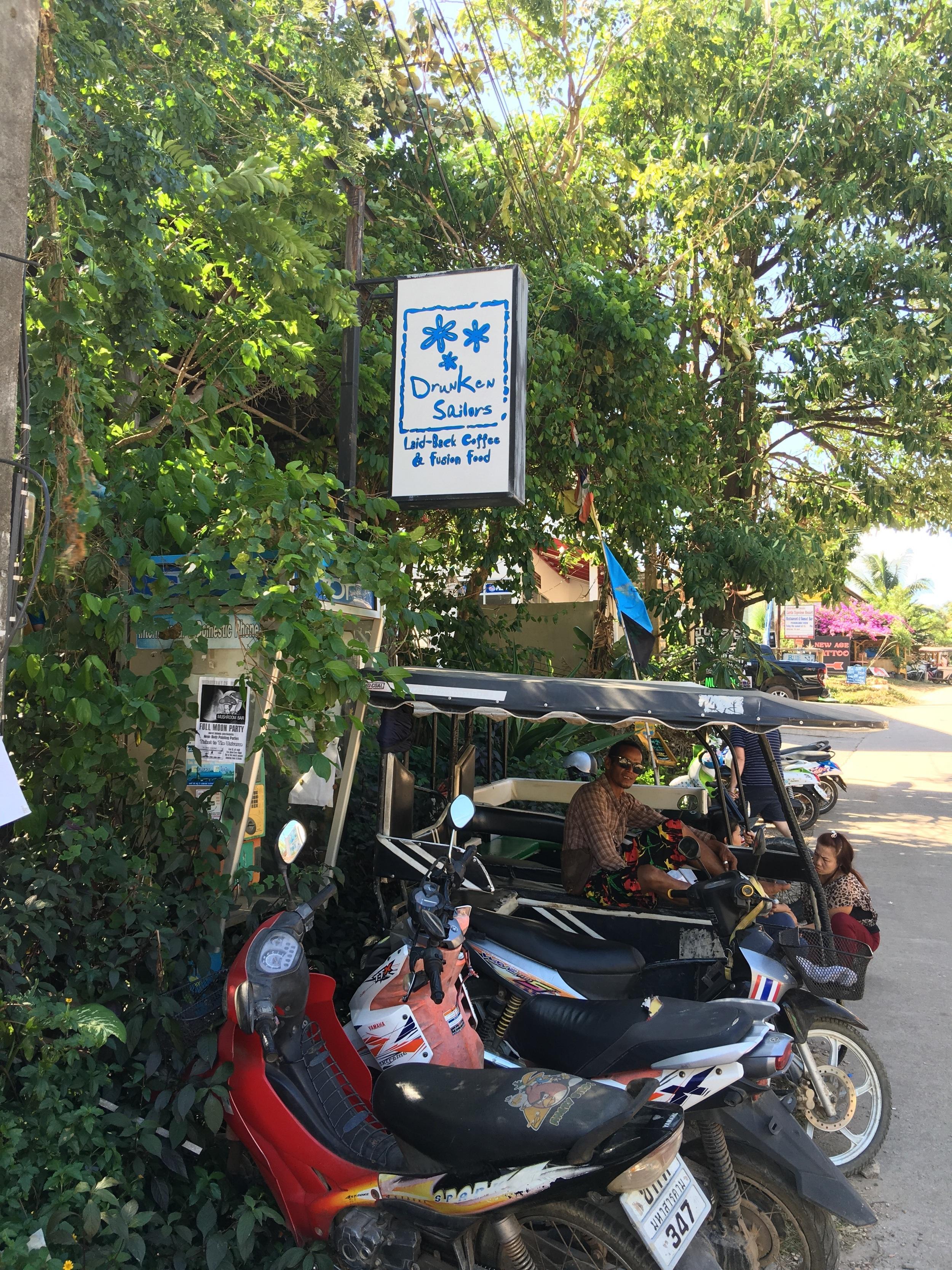 Outside Drunken Sailors Resturant
