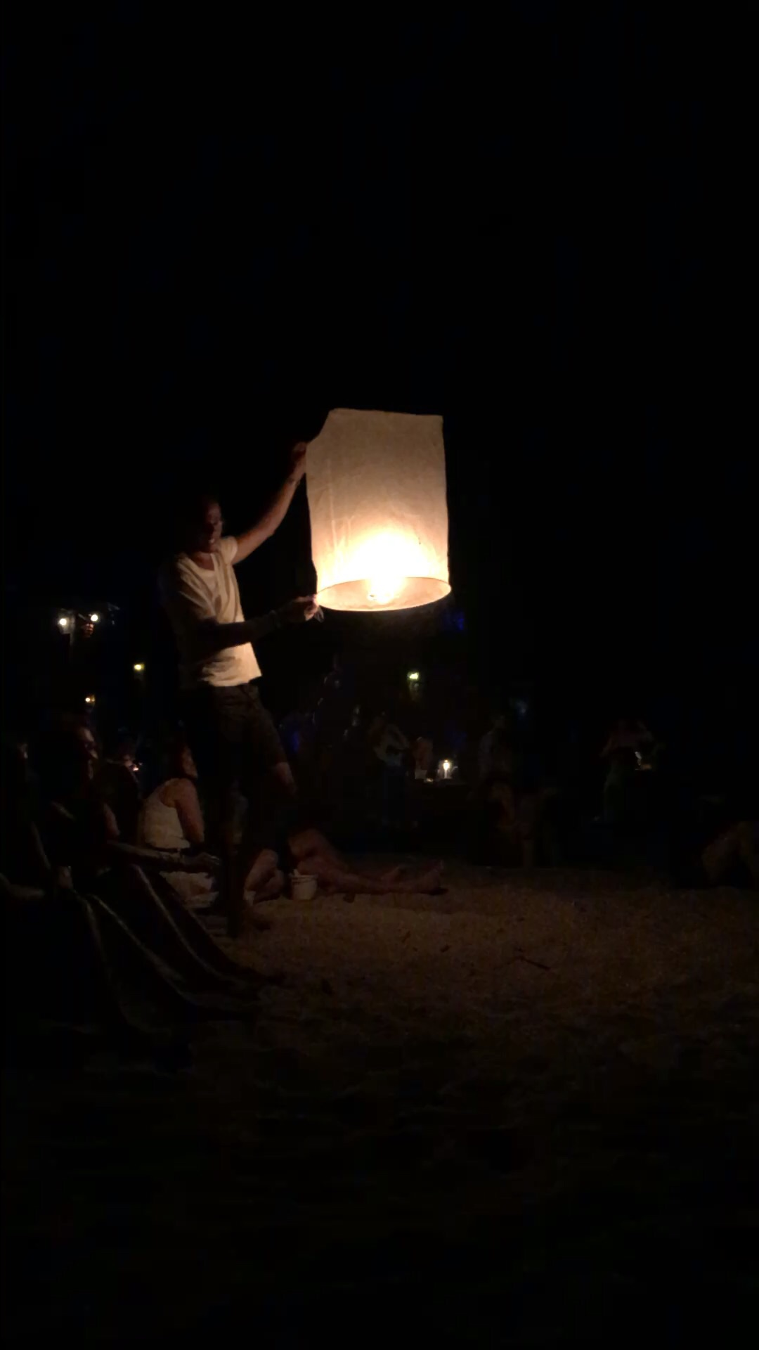 Floating Lanterns at Pangea Beach