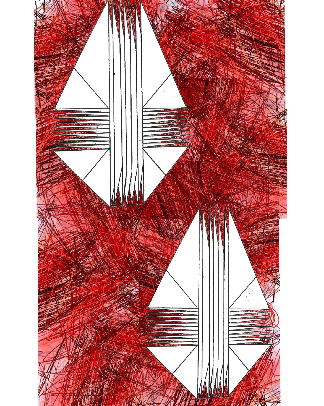 Cuts, 2015 inkjet on canvas , 24 x 36 inches