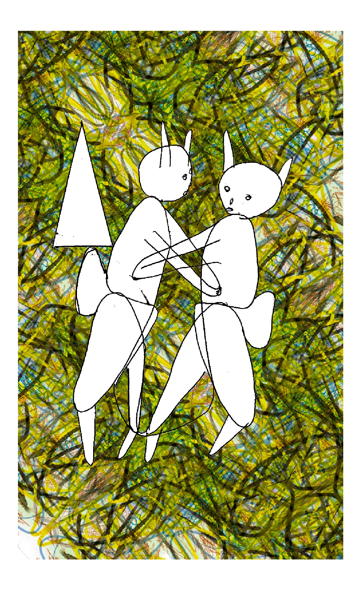 The Pleasure of Your Company, 2015 inkjet on canvas , 24 x 36 inches