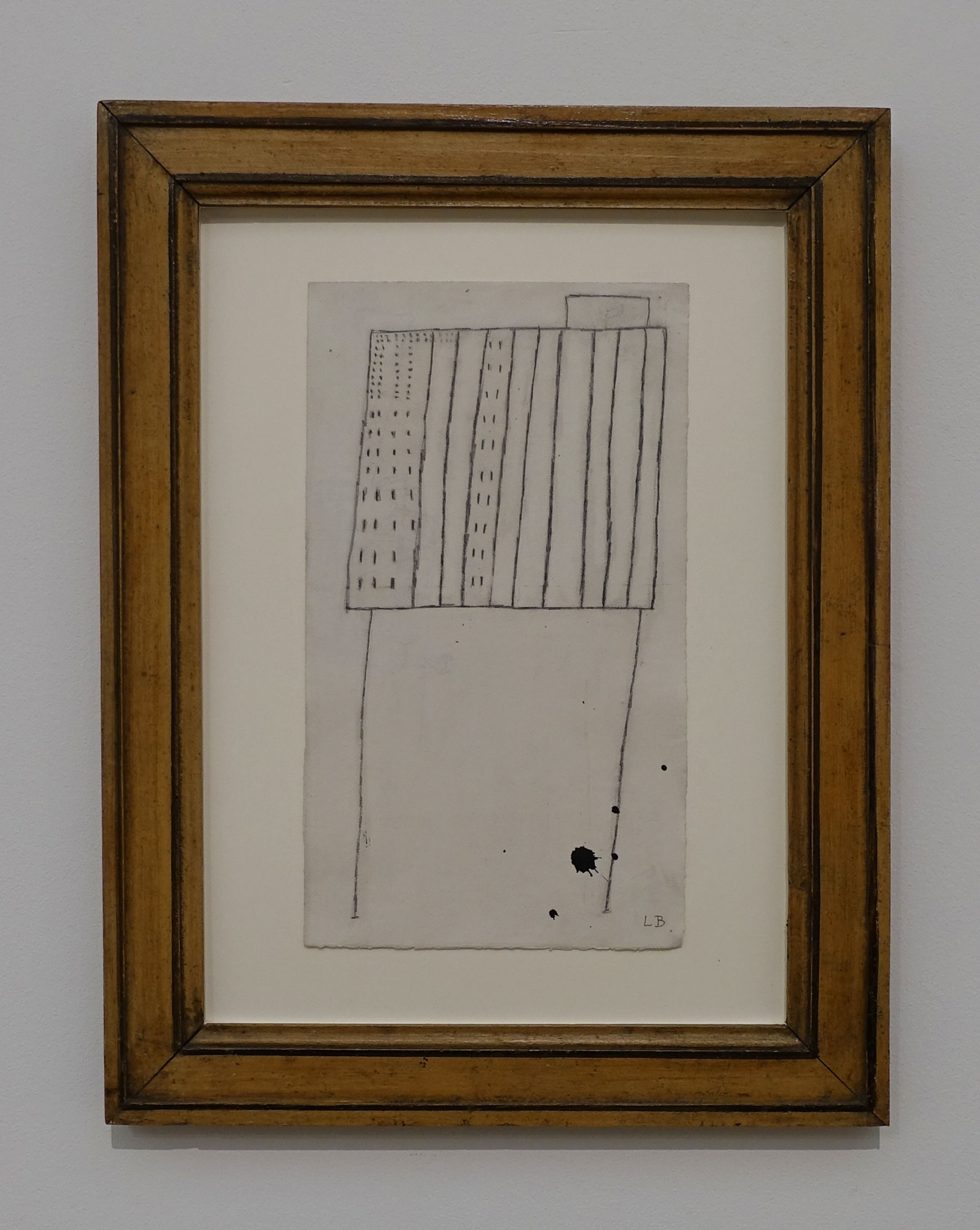 A precious drawing by Louise Bourgeois at Houser & Wirth