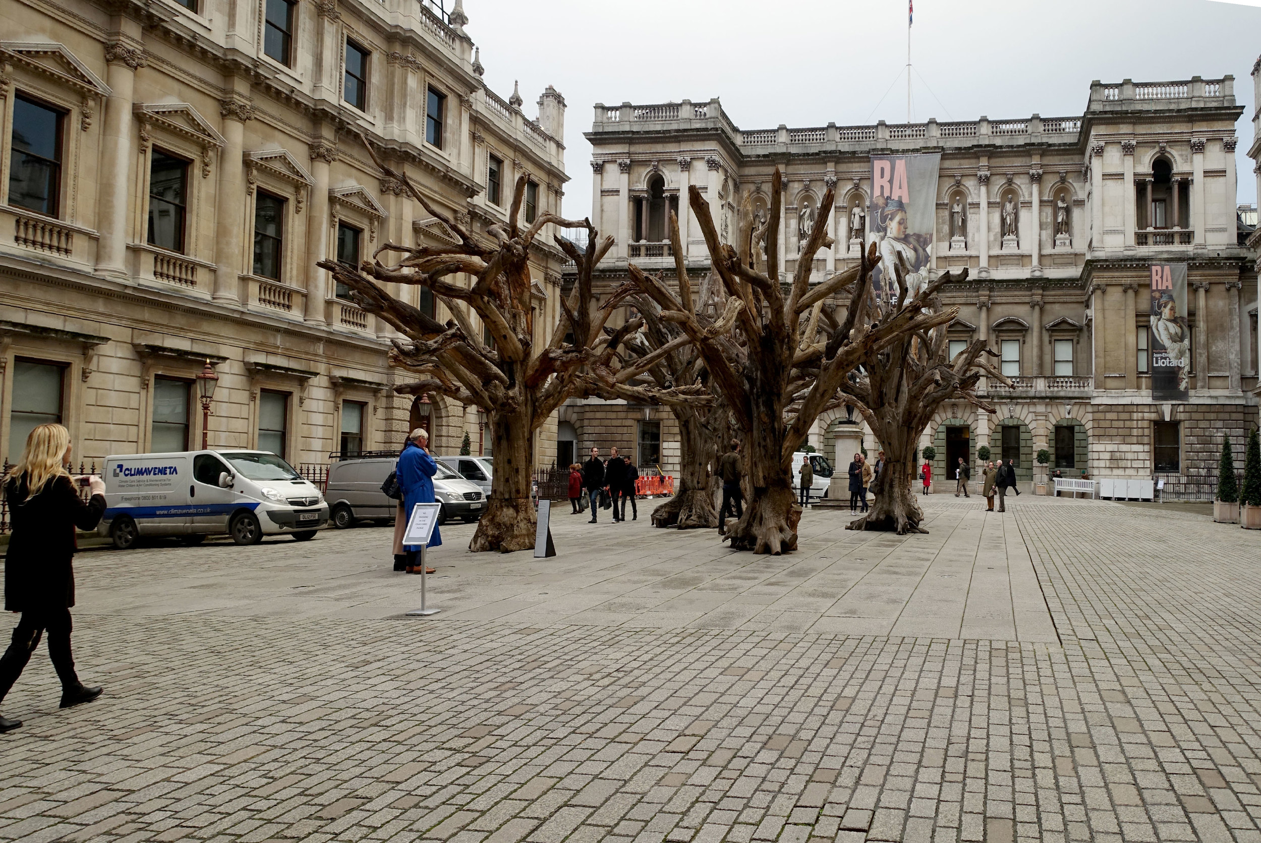 Ai WeiWei at Royal Academy London