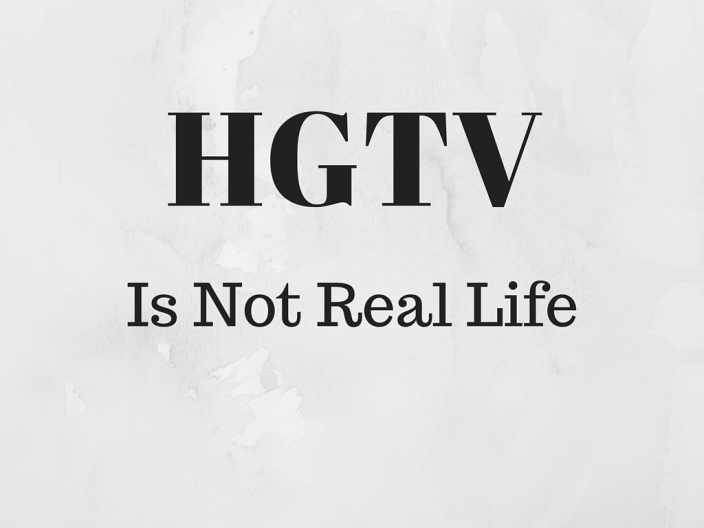 Don't believe everything on TV.