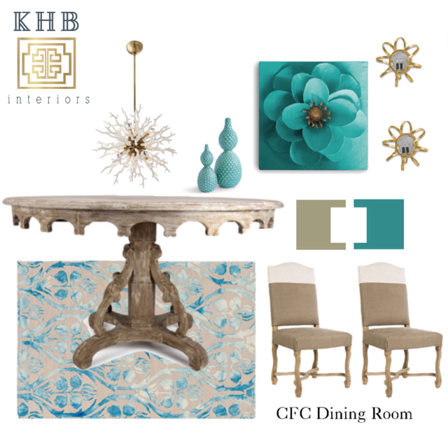 KHB Interiors New Orleans Interior Design Client Inspiration Mood Board