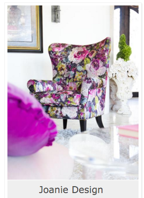 Gorgeous Floral Chair From Joanie Design