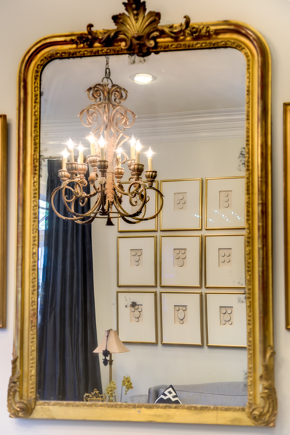 mirrors and art decorating ideas metairie residential interior design khb interiors