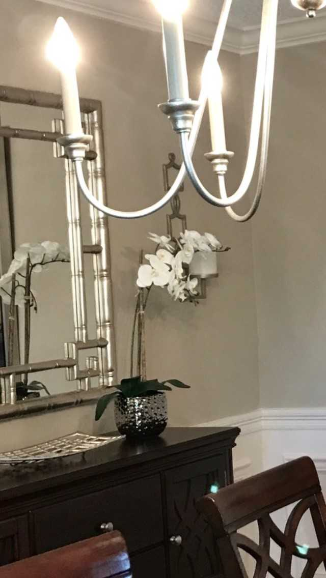 dining room mirror frame new orleans designers khb interiors