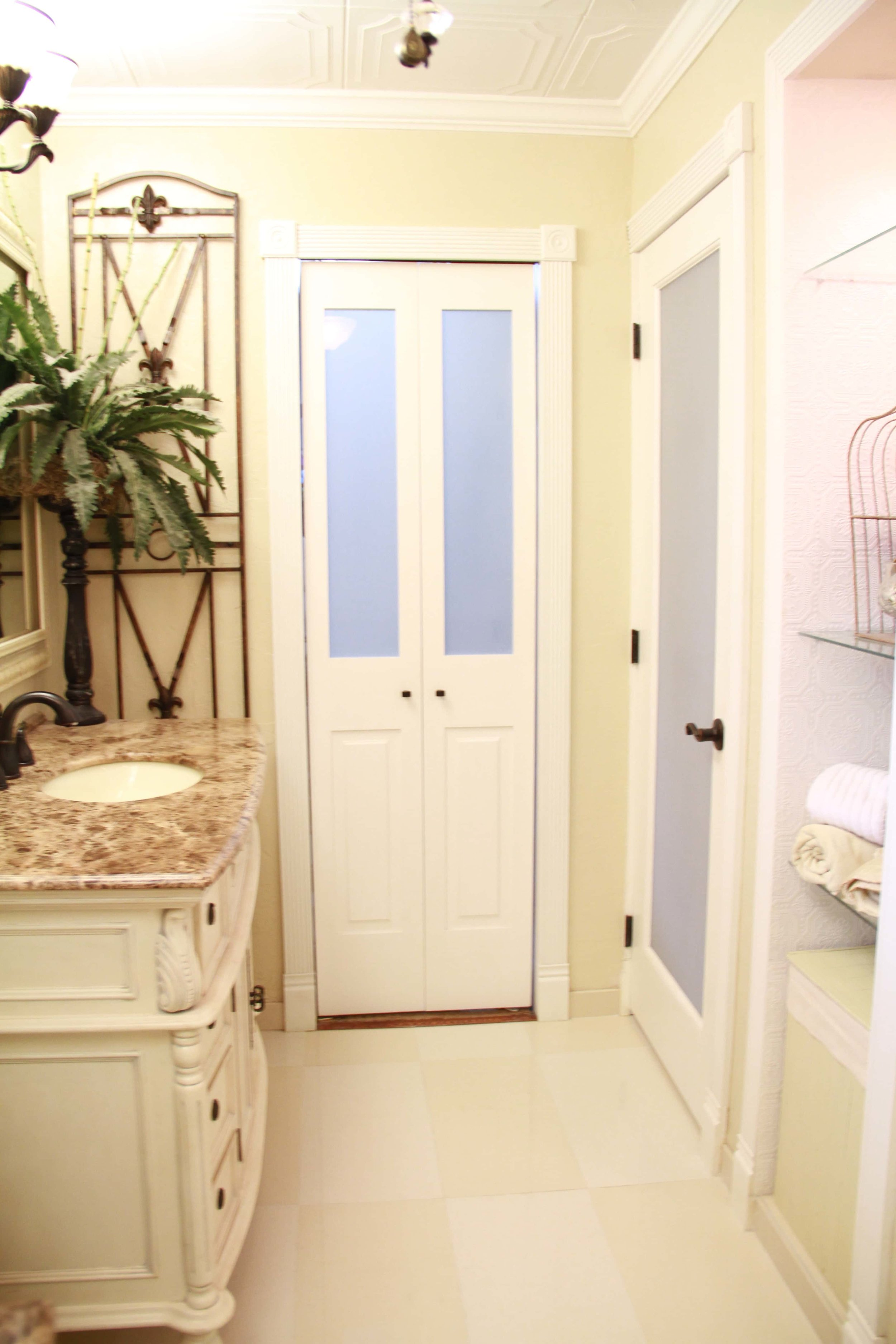 bathroom door style ideas residential interior design metairie uptown khb interiors
