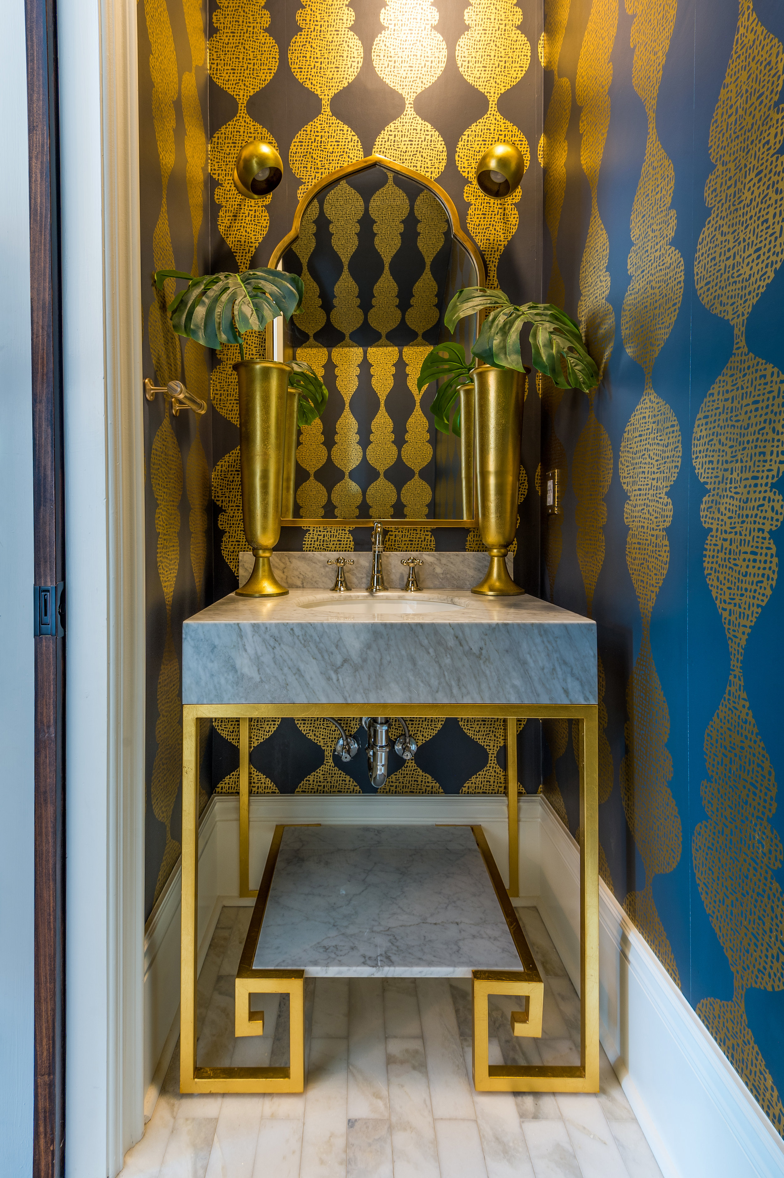powder room decorating ideas luxury interior design metairie khb interiors