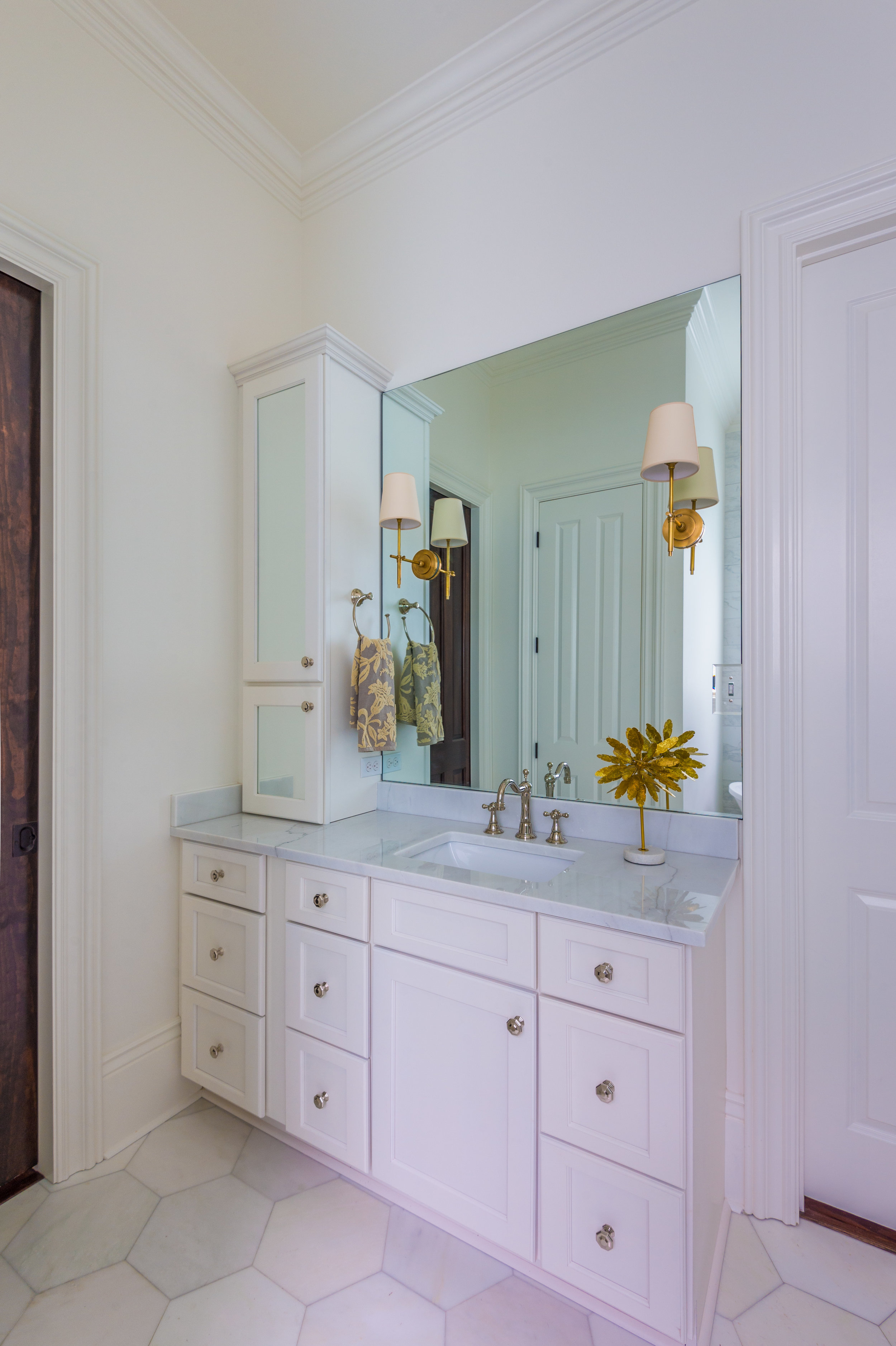 white master bathroom vanity new orleans home interiors khb interiors