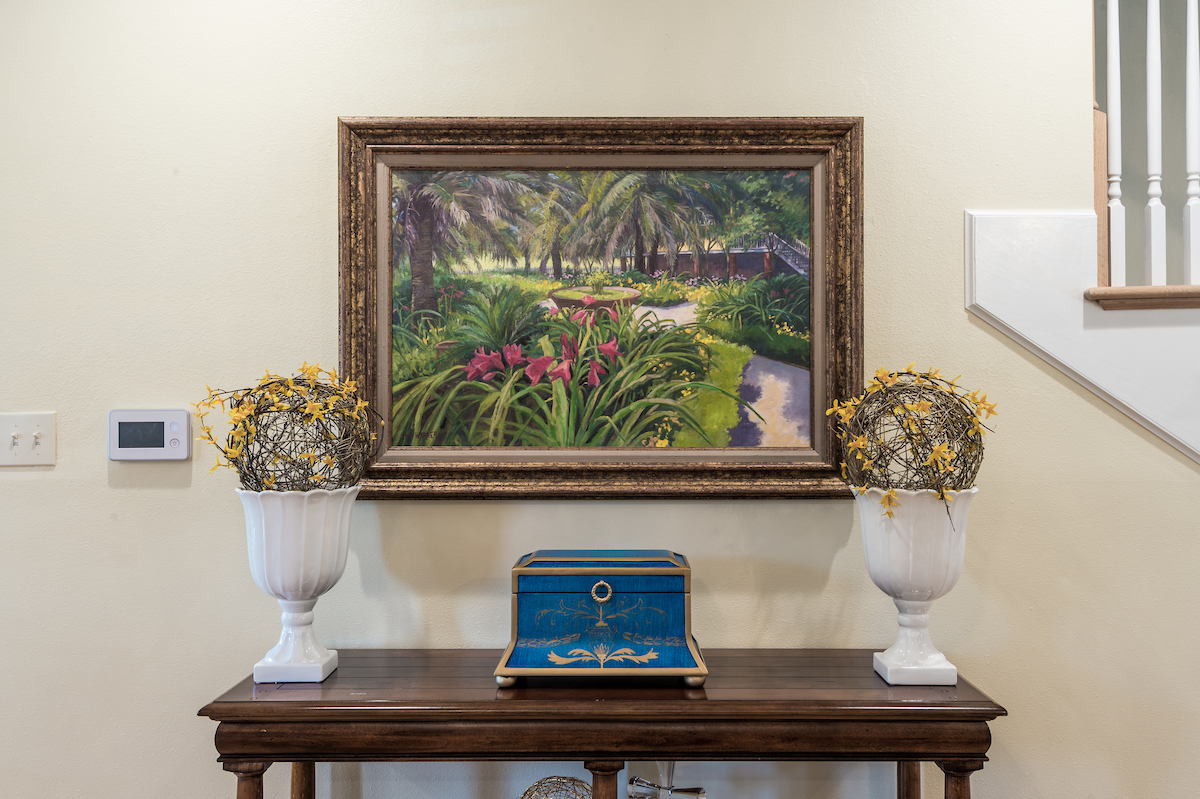 entryway table ideas metairie local interior designers khb interiors