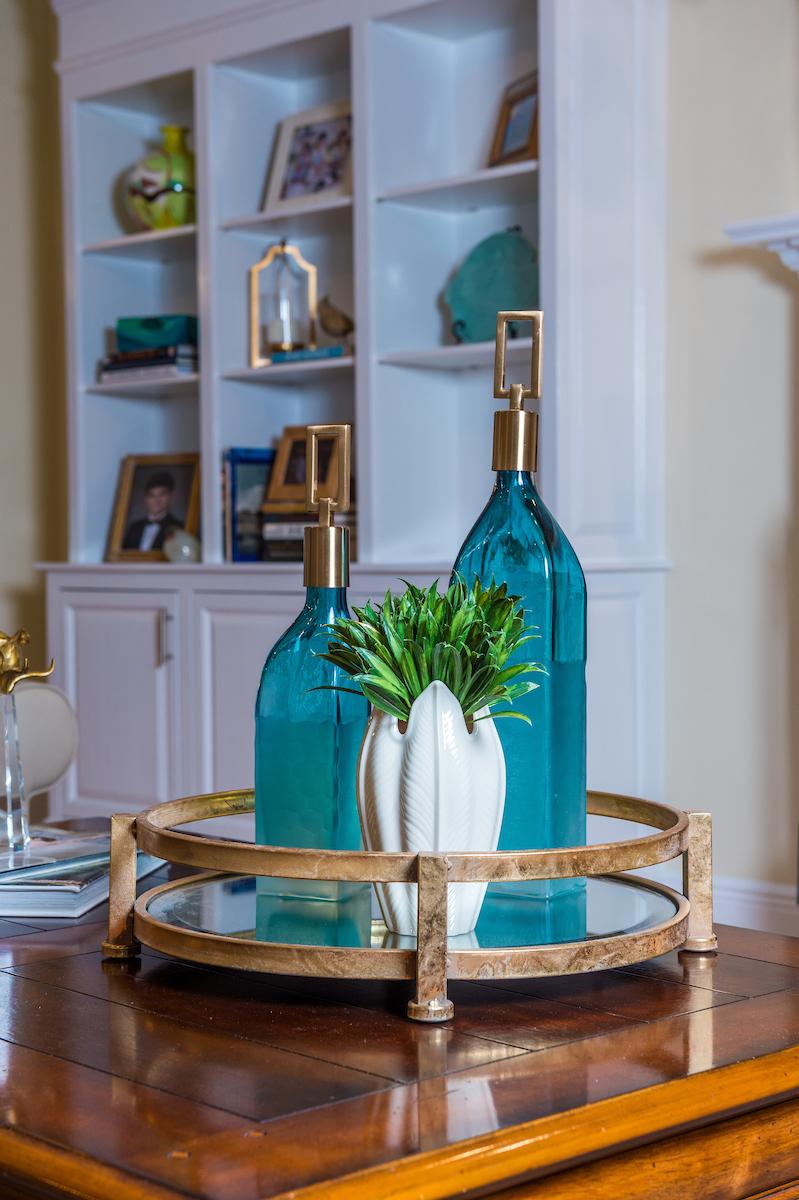 coffee table bookshelf decor new orleans home interiors khb interiors