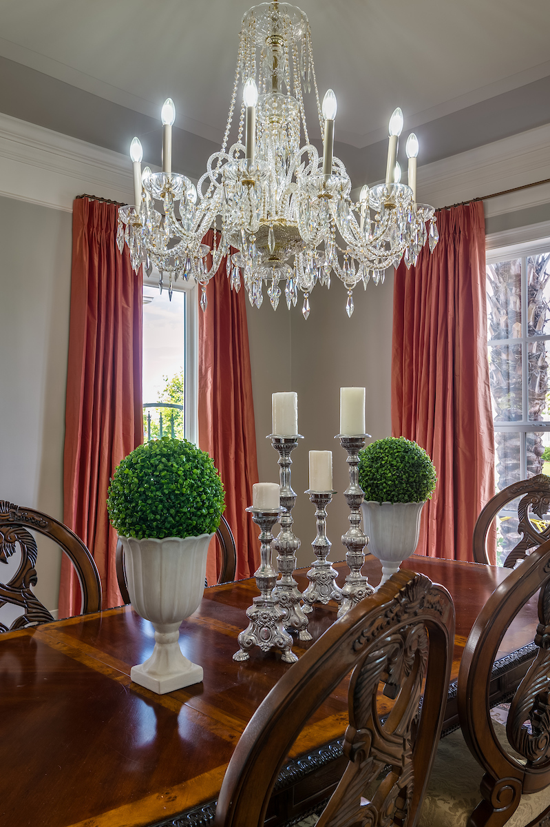 KHB Interiors traditional dining room custom silk drapes new orleans old  metairie lakeview new orleans interior decorator garden district kamal .jpg