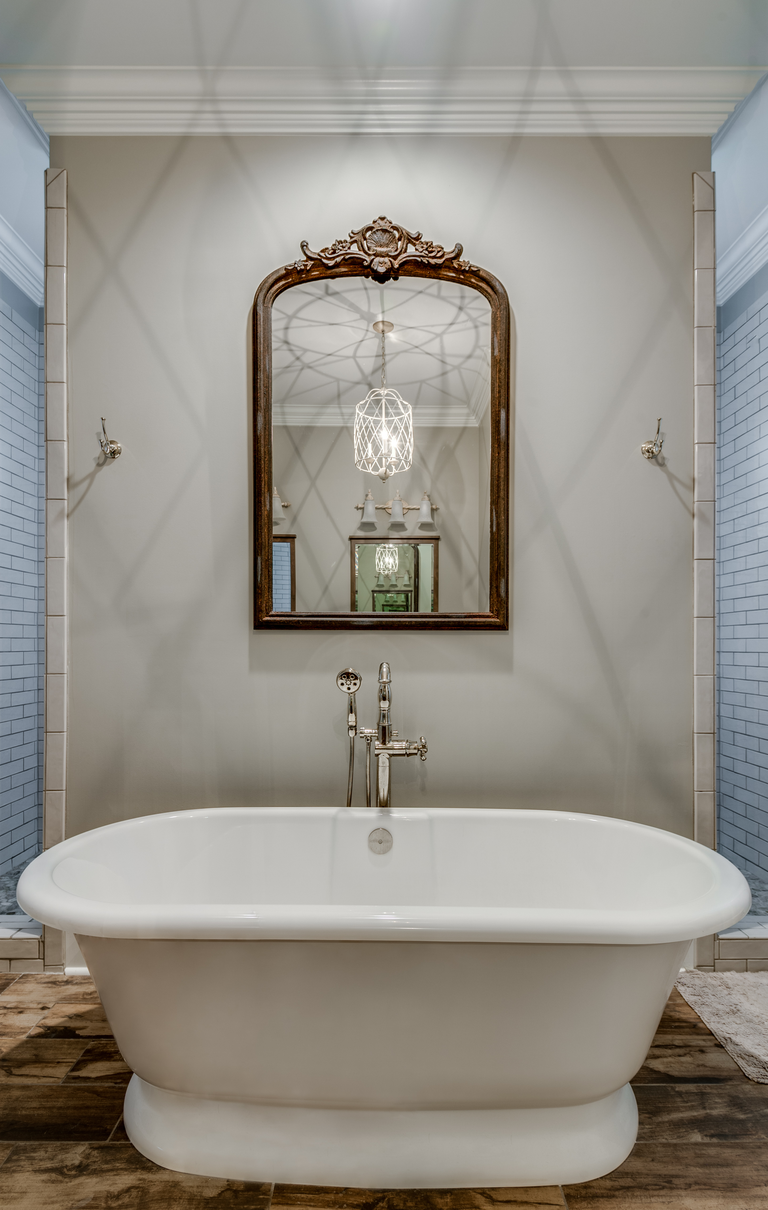 master bathroom tub marble walls new orleans home interiors khb interiors