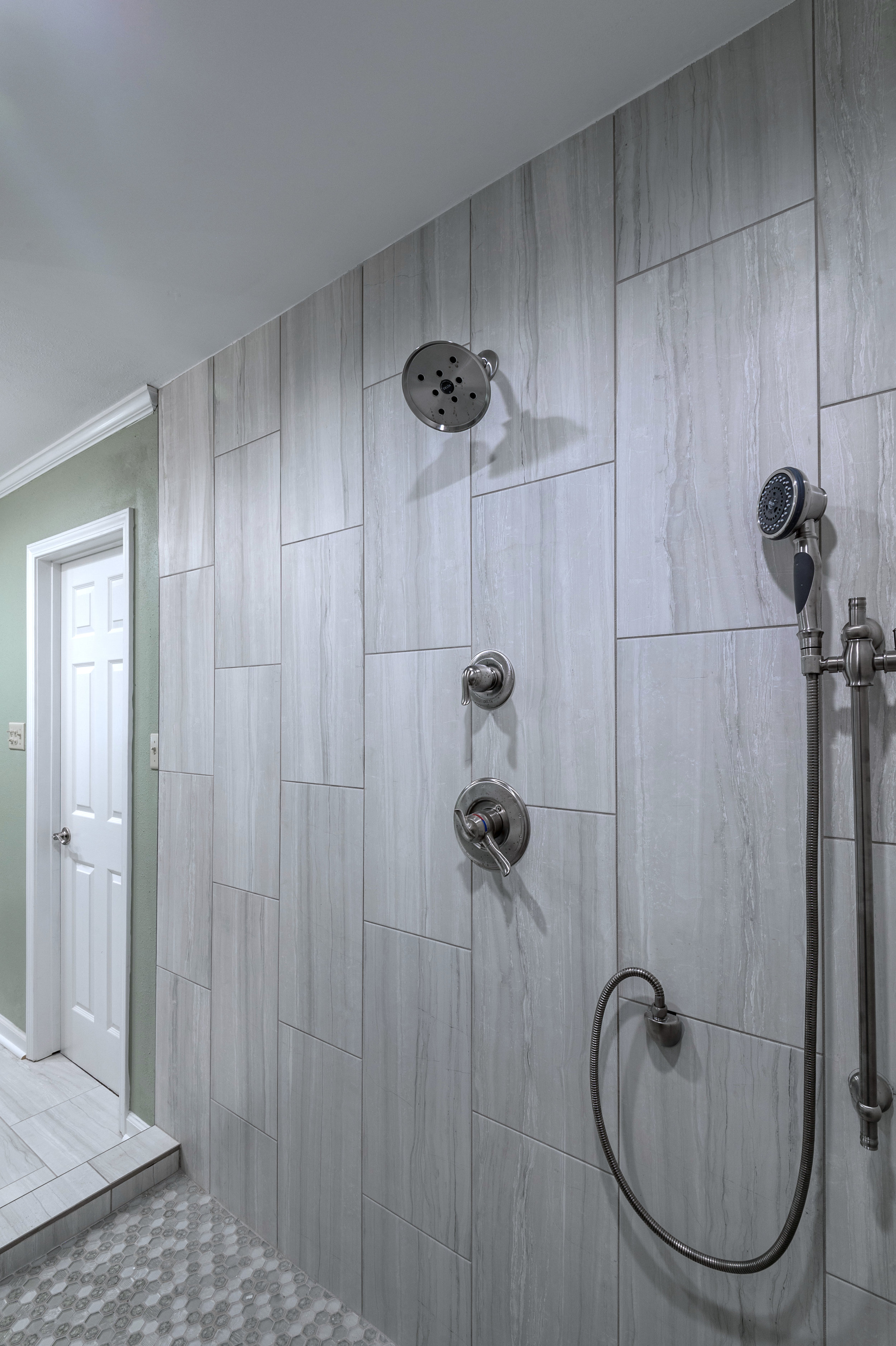 master bathroom shower tile ideas new orleans home interiors khb interiors