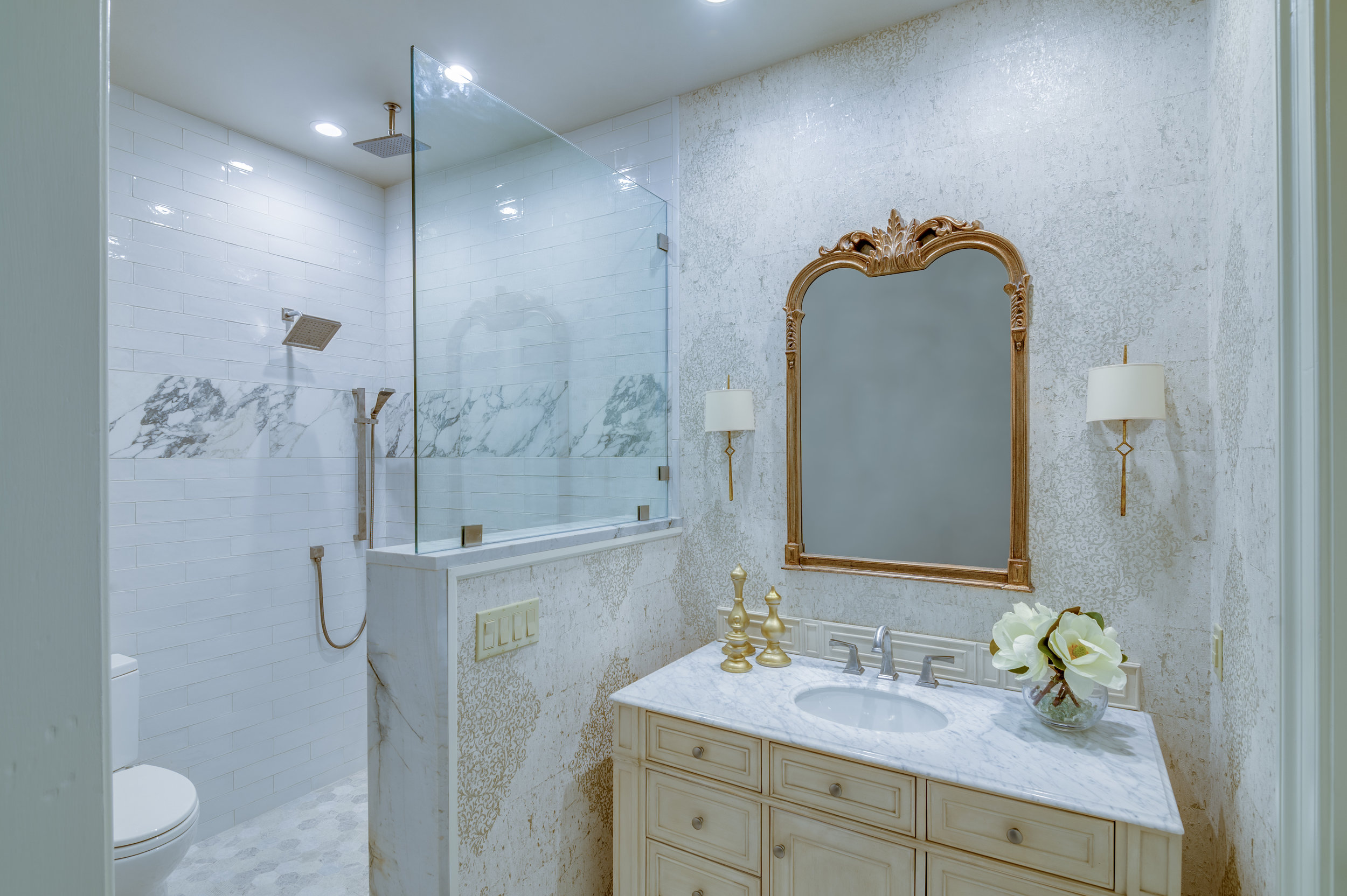 river ridge master bathroom renovation new orleans and old metairie interior designer