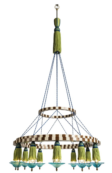 Lutyens Furniture Fringe Chandelier