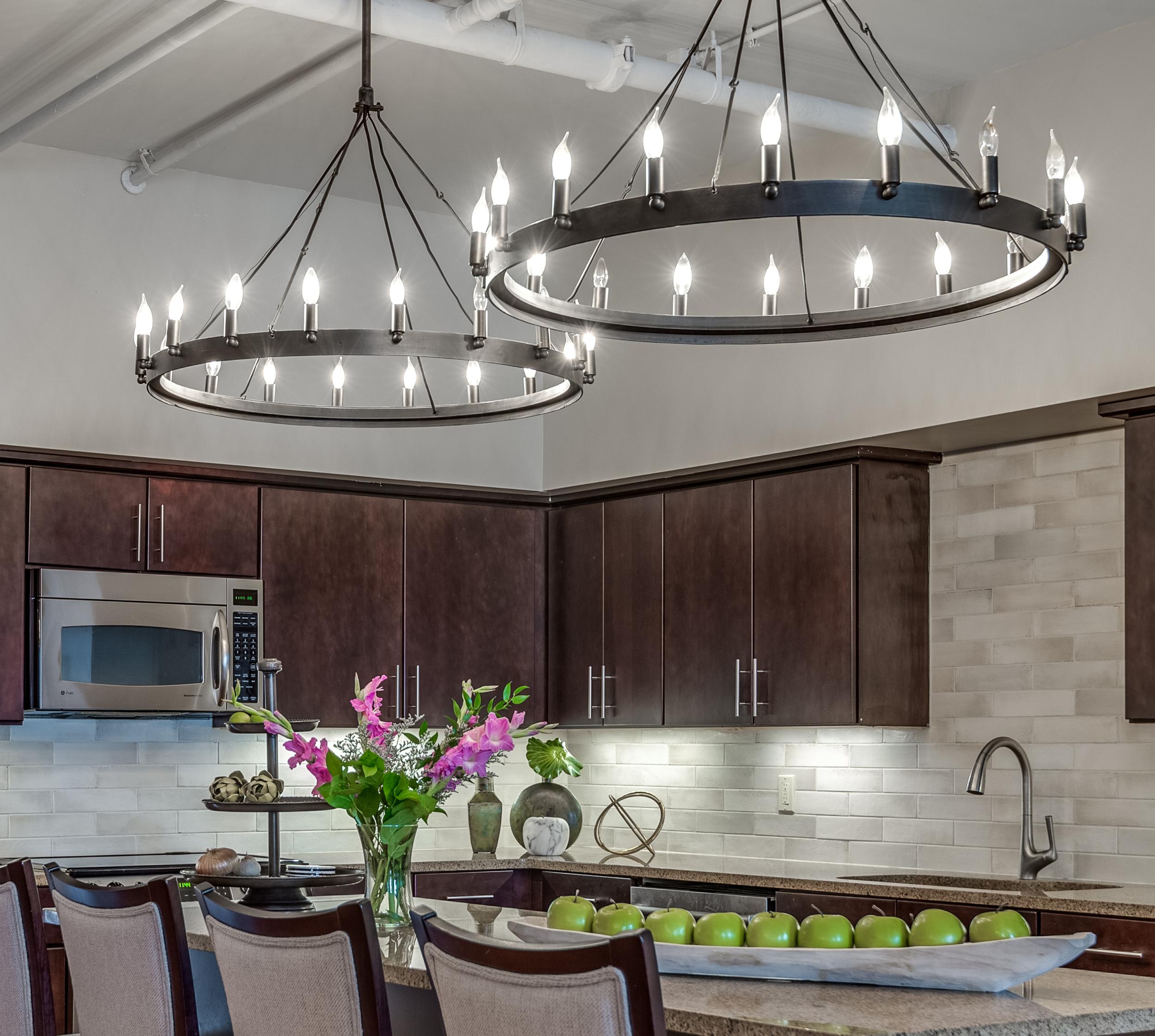 kitchen chandelier lighting ideas metairie uptown local interiors designers khb interiors
