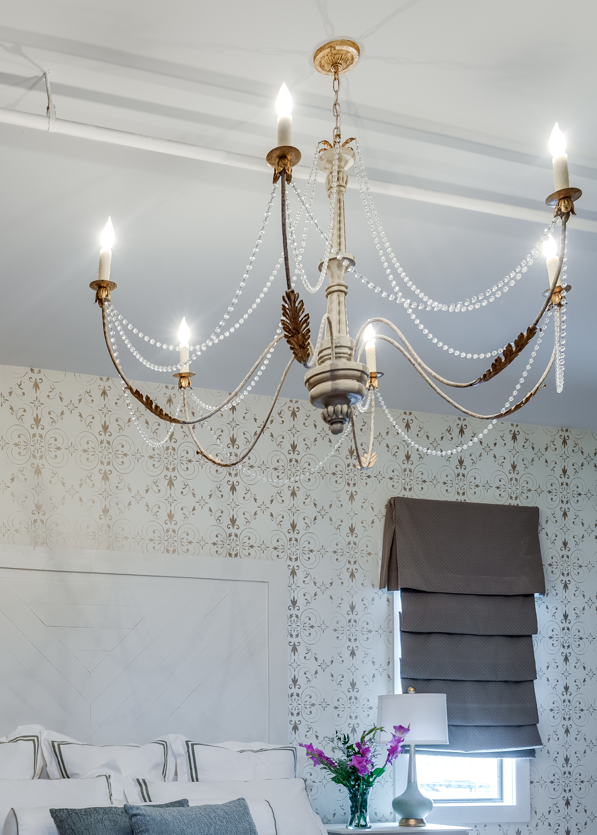 bedroom chandelier ideas metairie uptown top interior designers khb interiors