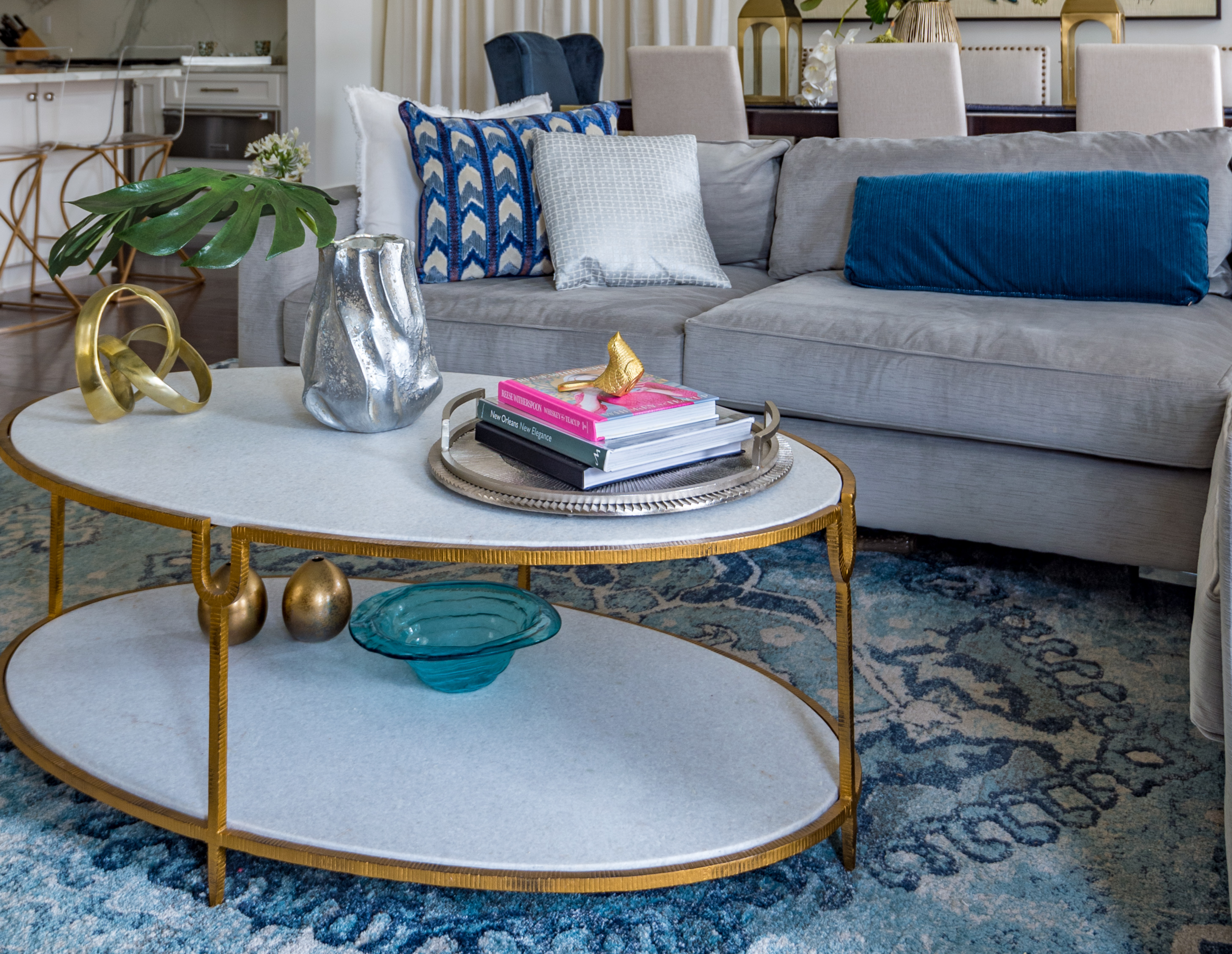 modern coffee table decor traditional interior design metairie uptown khb interiors