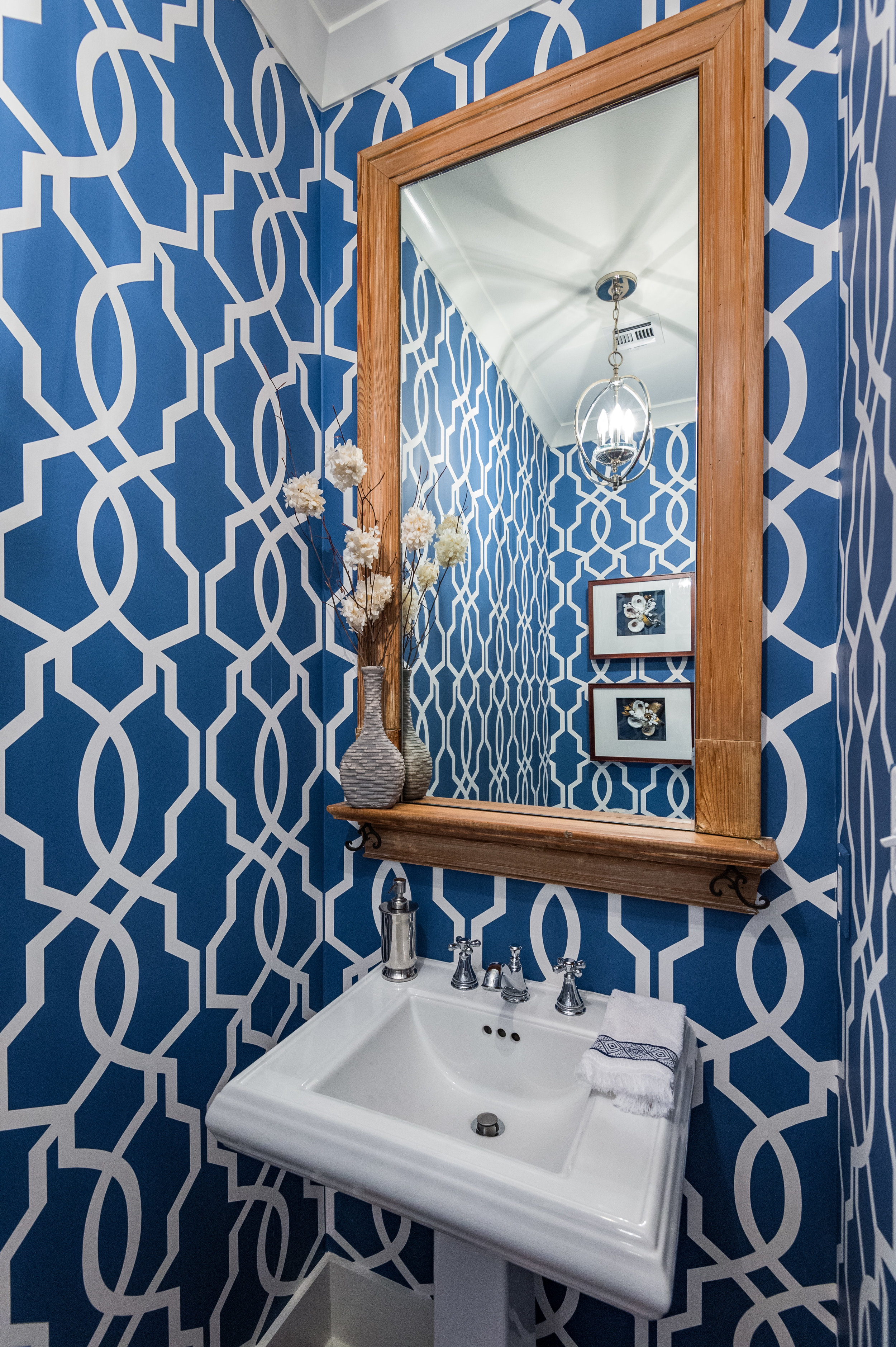 blue and white bathroom ideas best interior design new orleans khb interiors