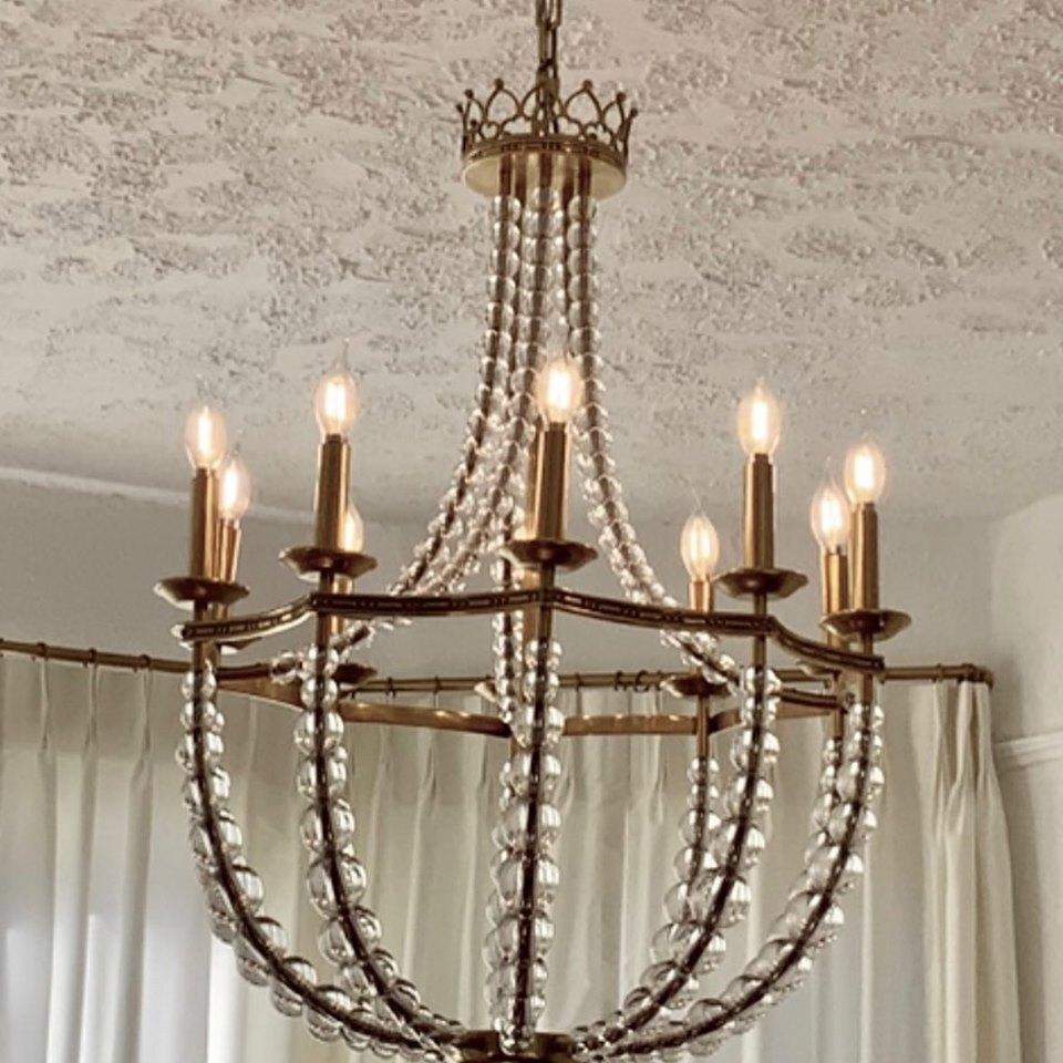 mardi gras chandelier new orleans interior designer