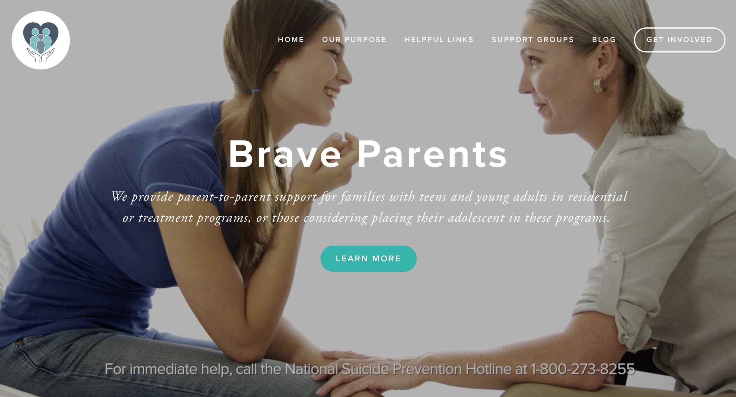 Website -  www.BraveParents.org