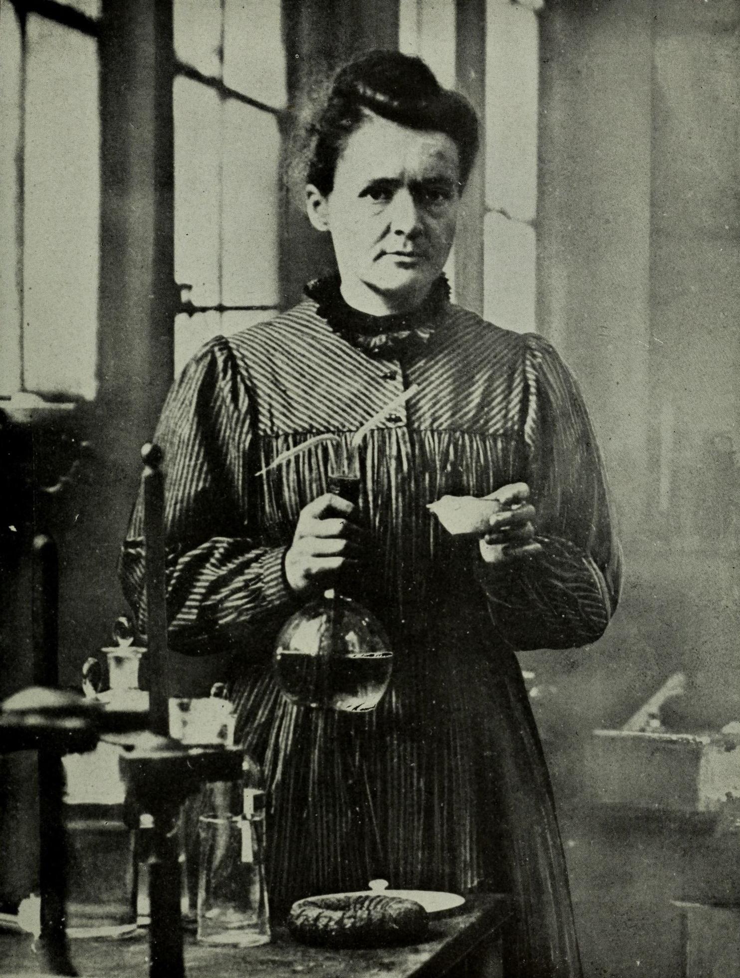 Marie Curie | [public domain]