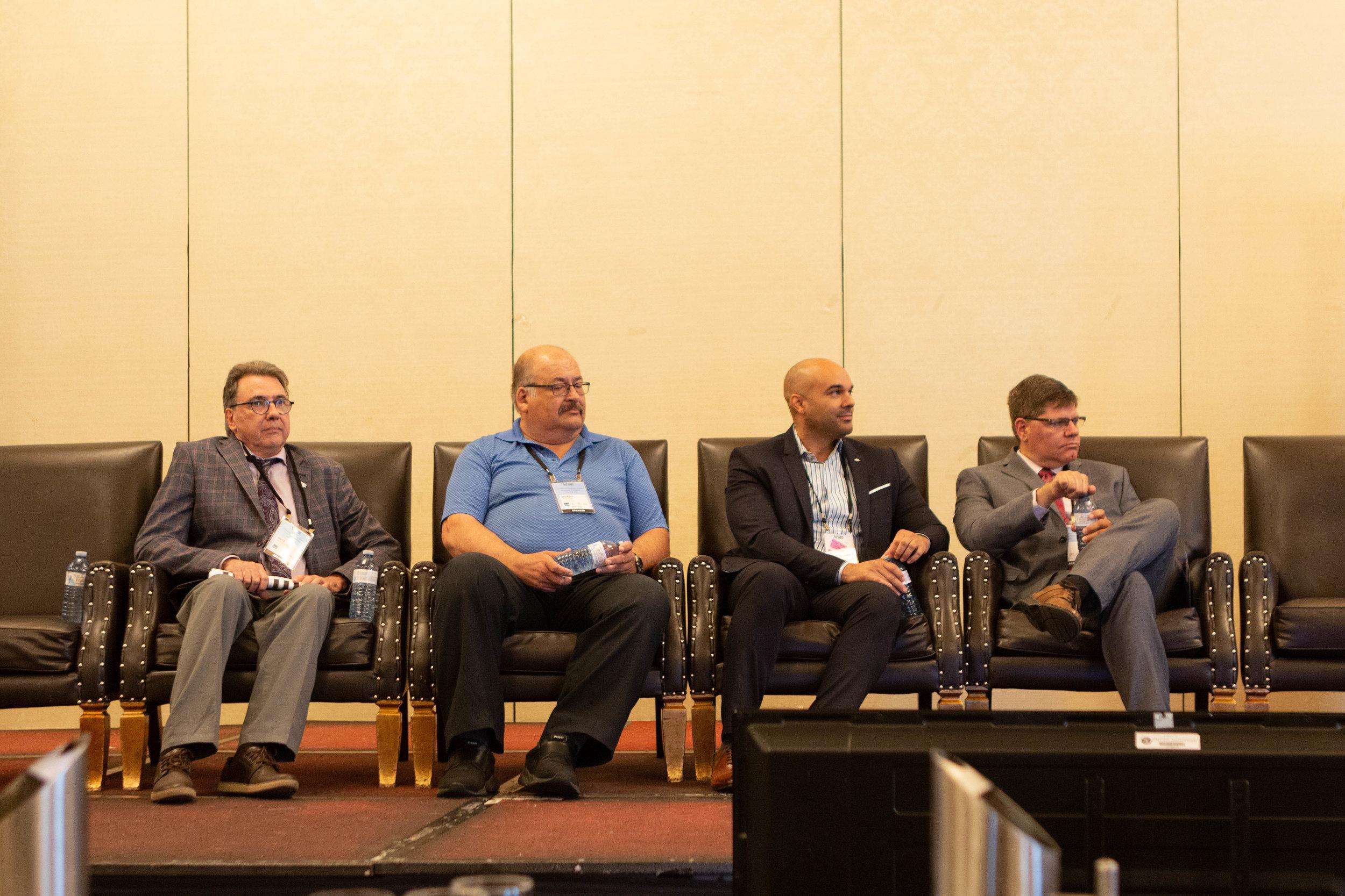Panel: Dave Partington - Tok Group ; Morley Fortier - City of Winnipeg Transit System ; Bem Case - TTC ; Kirt Conrad - SARTA
