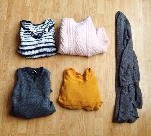 5 sweaters