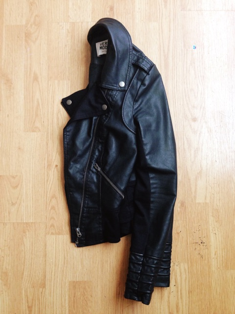 My perfect leather jacket, for a little edge.