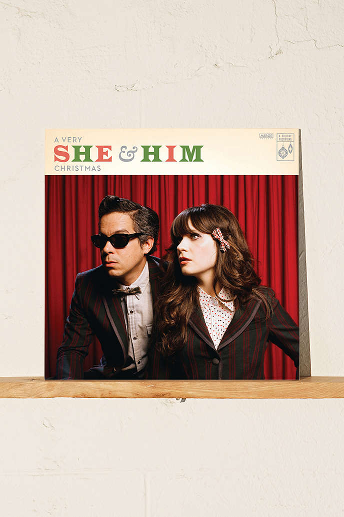 She & Him / A Very She & Him Christmas   I've been dying for a Christmas album! Their croony covers of holiday classics are ideal.