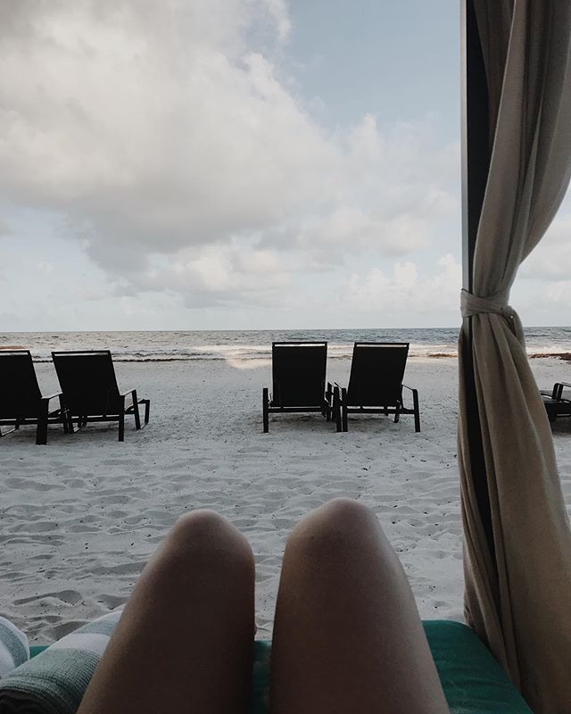 Last full day in Tulum, and feeling refreshed and ready for summer!