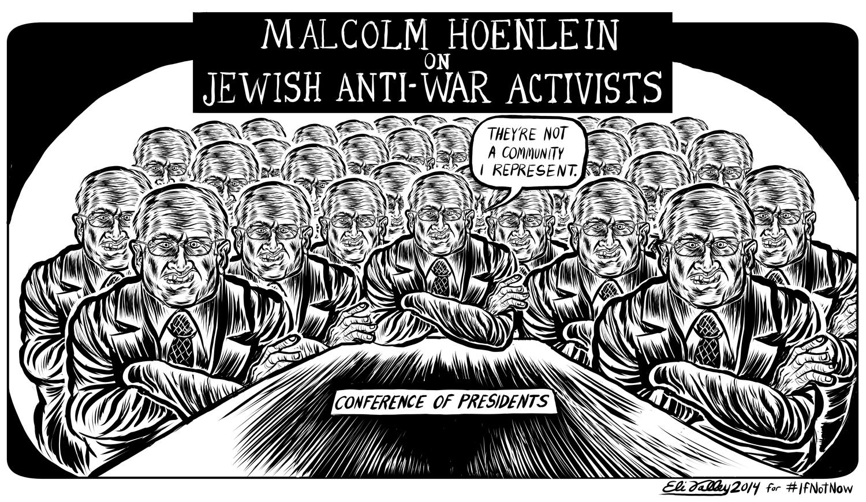 Malcolm Hoenlein, Gaza. +972 Magazine, 8/3/14